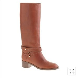 J. Crew Parker Boots Size 8 Extended Calf